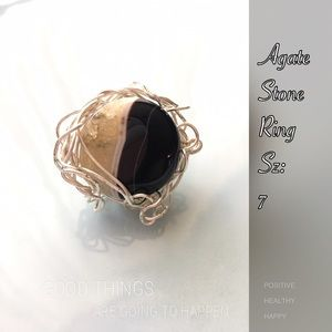 Agate Lovely Stone Ring