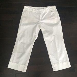 """G1 Goods Pants - """"G1 Goods"""" white capri pants"""