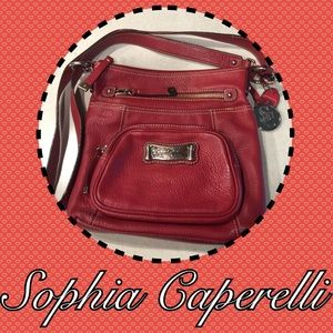  Sophia Caperelli Leather Shoulder Bag