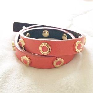 Tory Burch Double Wrap Bracelet in Orange