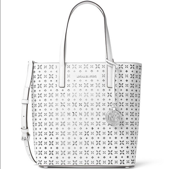 011517131cb8 Michael Kors Bags   This Seasons Hayley Perforated Tote   Poshmark