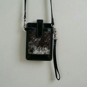 Wristlet Pony Leather