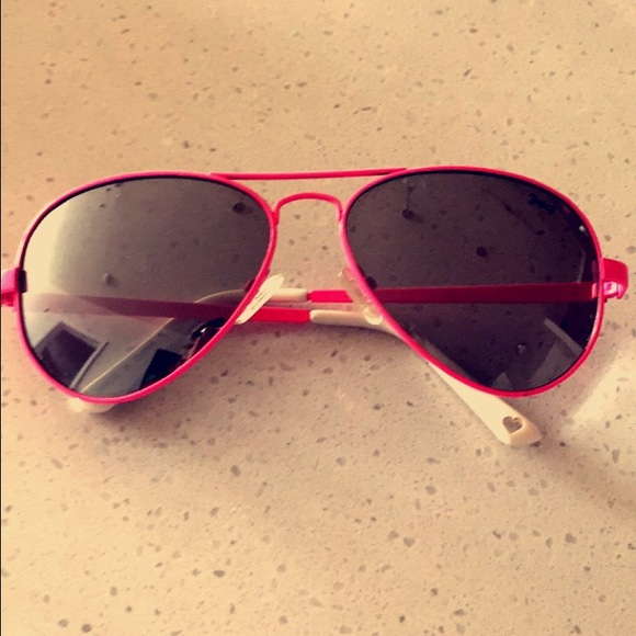 28bbef53cc Juicy Couture Accessories - Juicy Couture Hot Pink Aviator Sunglasses