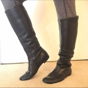 Shoes - Lamb skin Leather Boots