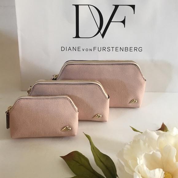 Diane von Furstenberg Bags   3pc Makeup Bag Set   Poshmark c241857c63