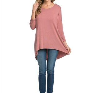 Tops - LAST ONE ✨ beautiful ✨ blush piko style top