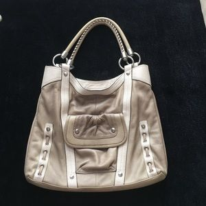 b. makowsky Handbags - B. Makowsky tan purse