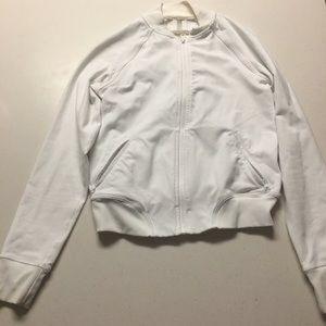 lululemon athletica Jackets & Blazers - Lululemon Tennis Jacket in White