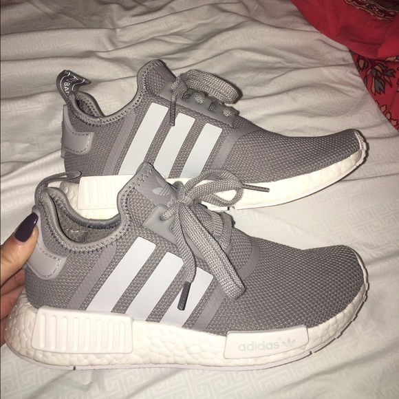Adidas nmd in grey size 7 women's