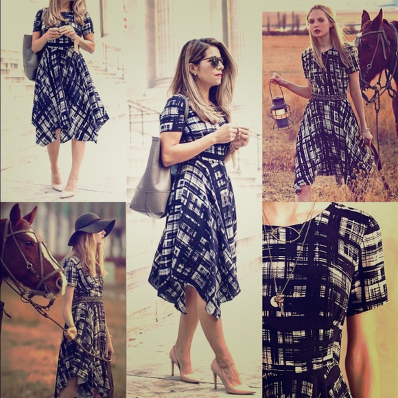 924cce2d6026 Anthropologie Dresses & Skirts - Anthropologie Painted Plaid Dress size 10
