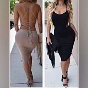 Dresses & Skirts - BACK IN STOCK! Bandage Bodycon Dress
