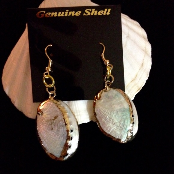 bc7ab8825 Jewelry | Beautiful Iridescent Seashell Earrings | Poshmark
