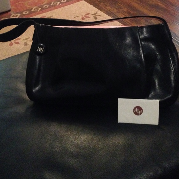 3a164b1d57a MONSAC Bags | Original Black Genuine Leather Handbag | Poshmark