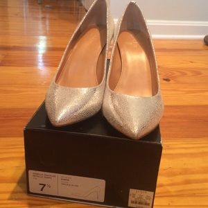 J.crew Isabelle crackled pumps