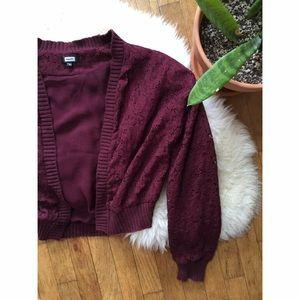 Urban Outfitters Jackets & Blazers - Bik Bok Lace Bomber Jacket