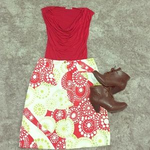 Bundle skirt and shirt