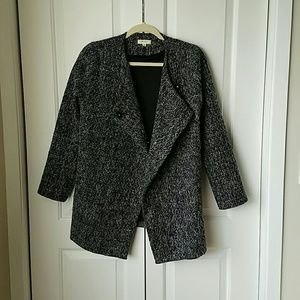 Everly Jackets & Blazers - Tweed Coat