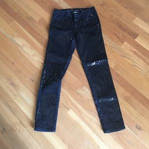 Justice sequin pants size 12 girls