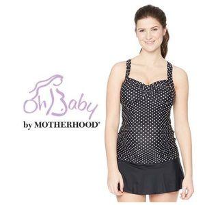 Motherhood Maternity Other - Oh baby by Motherhood 2-PC polka Dot Swim Set