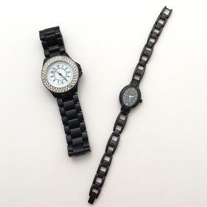 Timex Jewelry - ‼️ LAST CHANCE Watch bundle matte black timex