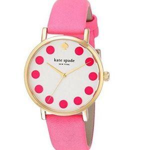 Kate Spade New York Metro Grand Pink Dot Watch