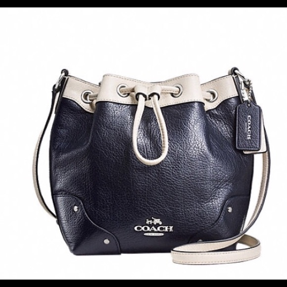 61% off Coach Handbags - Coach Baby Mickie drawstring bag from ...