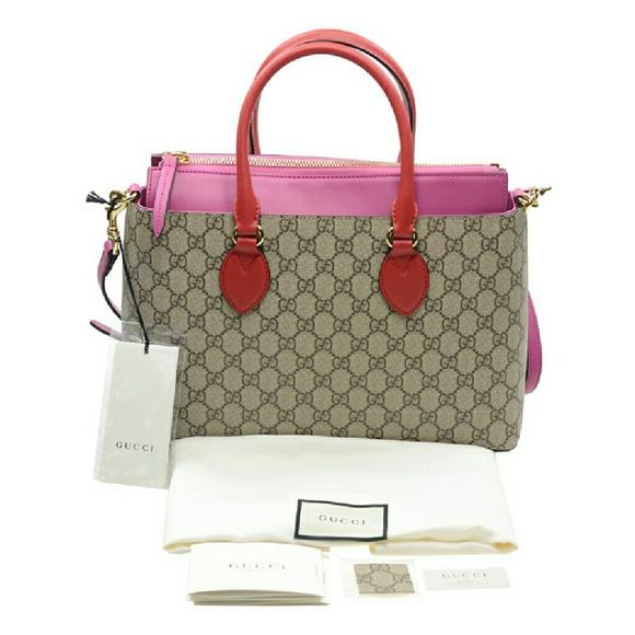 d6ea72ac205f02 Gucci Bags   Nwt Gg Supreme Tote   Poshmark