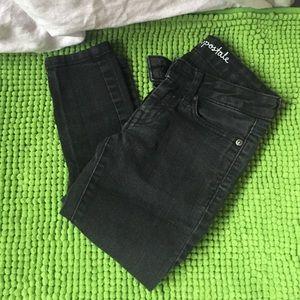 black Aeropostale jeans
