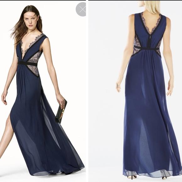 BCBG Dresses | Klarissa 100 Silk Gown Dress | Poshmark