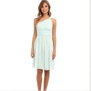 Donna Morgan Dresses & Skirts - Draped mint dress