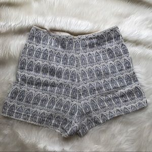 Topshop Shorts - Seen on Celebs! Top Shop Aztec Shorts
