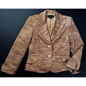 Isabel & Nina Jackets & Blazers - Isabel & Nina 2-piece suit in burnished tweed