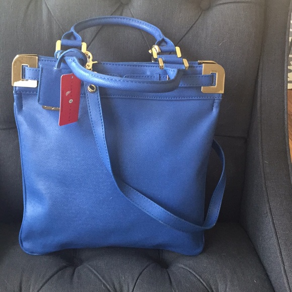 96% off Ivanka Trump Handbags - Ivanka Trump gorgeous blue ...