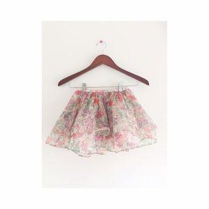 Little girl tutu never worn