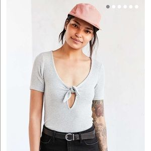 NWOT!!! Urban outfitters grey knit tee