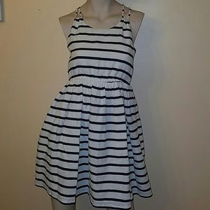 ruby & bloom Dresses & Skirts - Ruby & Bloom Navy and white striped dress