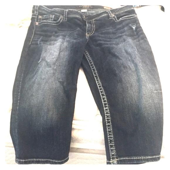 64% off Silver Jeans Denim - Plus size silver capri&39s. Tuesday