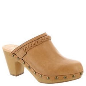 Report Shoes  Report Union Womens Clogs Tan