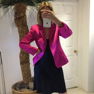 Gorgeous color! Hot pink/fuscia blazer