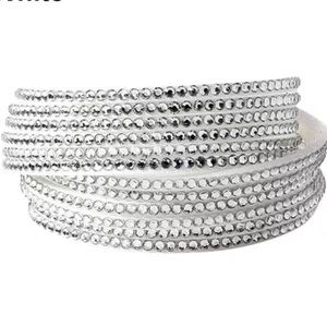 White Layered Bracelet