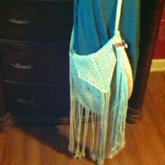 fe1d84a61 Mossimo Supply Co. Bags | Nwt Crochet Knit Festival Boho Crossbody ...