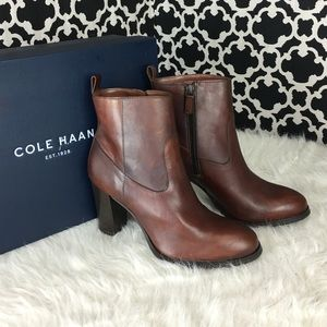🆕LISTING Cole Haan Sequoia Leather Bootie #72