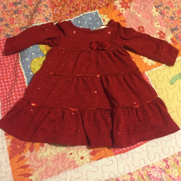 girls 18 month rare editions brand christmas dress
