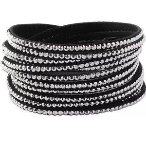 Black Stoned Bracelet