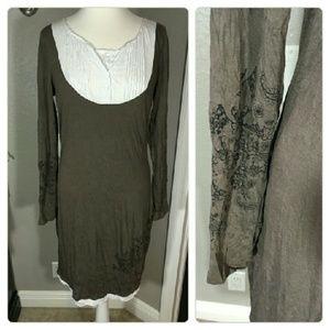 venus Dresses & Skirts - Venus Crinkle Very Soft Dress Size M