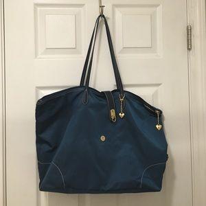 """JPK """"the lovesac"""" nylon tote bag"""