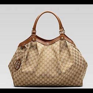 Gucci Handbags - Gucci Large Sukey Handbag - monogram fabric