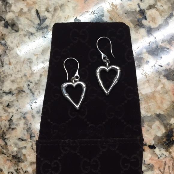 55cc1edabb5 Gucci Jewelry - Gucci Bamboo Heart Earrings