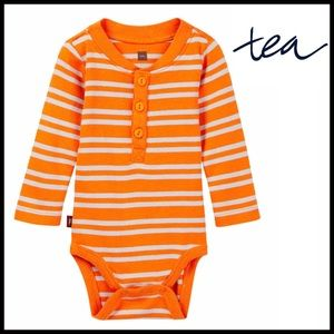 Tea Collection Other - ❗️1-HOUR SALE❗️STRIPED HENLEY Onesie Bodysuit