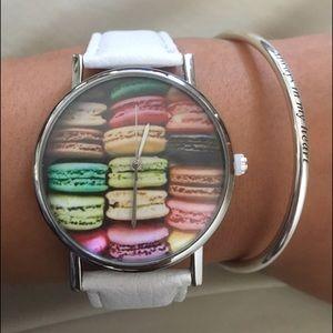 French Macaron watch